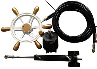 Hydraulic Boat Steering System Includes Two Tubes In Length Of 8 Meters
