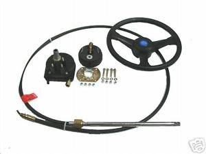 Marine Rotation Mechanical Steering System Corrosion Resistant Easy To Install