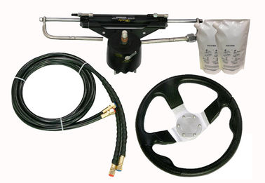 China ZA0300 Boat Hydraulic Steering Kit , Outboard Power Steering Kit With Low Friction Helm factory