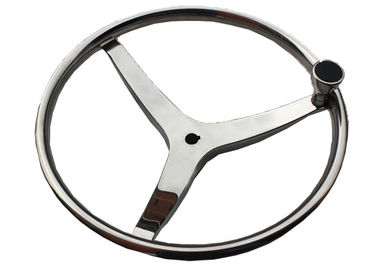 China Great Comfort Marine Steering Wheel , Corrosion Resistant Ship Steering Wheel factory